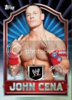 2011 Topps WWE Classic John Cena Base Card