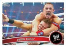 2011 Topps WWE John Cena Base Card