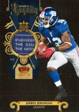 2011 Panini Crown Royale Rookie Royalty Jerrel Jernigan Prime Material Card