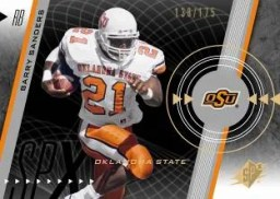 2011 Sp Authentic Barry Sanders Spx card