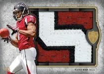 2011 Topps Supreme Football Julio Jones Relic