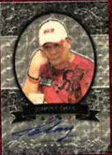 2012 Leaf Metal Poker Johnny Chan Autograph Card