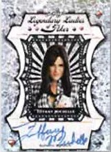 2012 Leaf Metal Poker Tiffany Michelle Ladies of Poker Autograph Card