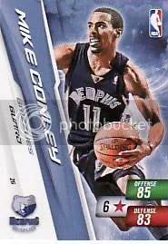 2010-11 Adrenalyn NBA 2 Mike Conley