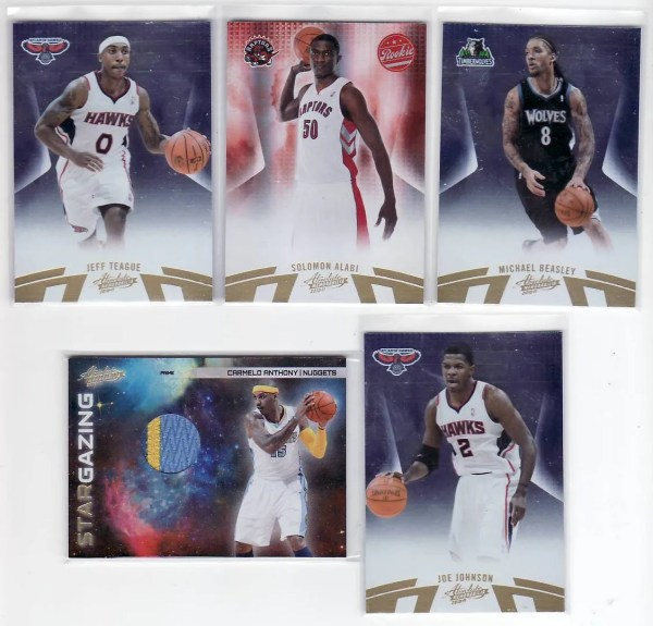 2010/11 Panini Absolute Basketball Box Break Pack #3