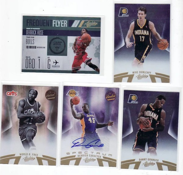 2010/11 Panini Absolute Basketball Box Break Pack #4