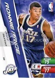 2010-11 Ronnie Price Utah Jazz Free NBA 2 Code
