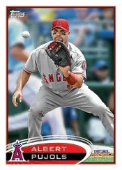 2012 Topps Albert Pujols Sp Series One 1 Card