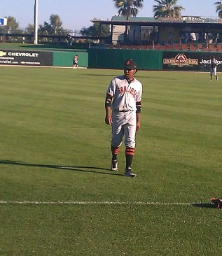 Francisco Peguero SF Giants Top Prospect