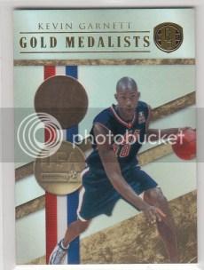2010/11 Panini Gold Standard Kevin Garnett USA 14k Gold Card #/10