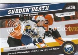 2011-12 Score Sudden Death Tyler Ennis Insert Card
