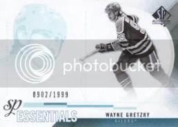 2010-11 UD Sp Authentic Wayne Gretzky Essentials