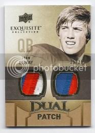 2010 UD Exquisite Dual Patch John Elway