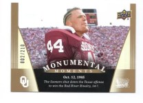 2011 Upper Deck Oklahoma Sooners Base Card