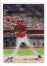 2011 Topps Lineage Justin Upton Experimental LINEAGRAPH 3D