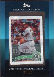 2011 Topps Series 2 Silk Collection Daric Barton