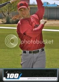 2011 Bowman Topps 100 28 Matt Davidson