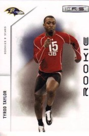 2011 Panini R&S Tyrod Taylor Rookie Card