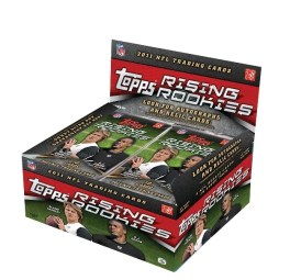 2011 Topps Rising Rookies Football Box