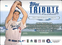 2011 Topps Tribute Baseball Hobby Box