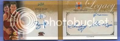2011 Upper Deck Legacy Steve Nash Book Card 1/1