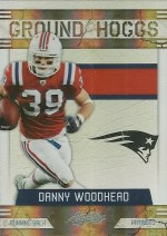 2011 Panini Absolute Ground Hogs Danny Woodhead