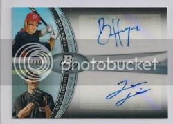 2011 Bowman Platinum Bryce Harper Dual Autograph /89