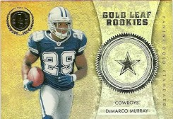 2011 Panini Gold Standard Gold Leaf Rookies DeMarco Murray Insert Card