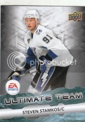 2011-12 Upper Deck Series 1 Steven Stamkos EA Ultimate Team