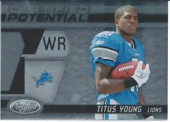 2011 Panini Certified Potential Titus Young RC