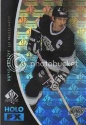 2010-11 Sp Authentic Wayne Gretzky Holo Foil FX