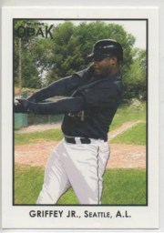 2011 TriStar Obak Ken Griffey Jr Base Card