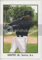 2011 TriStar Obak Ken Griffey Jr Base Card