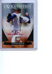 2011 Donruss Elite Trevor Bauer Autograph Red Ink /25