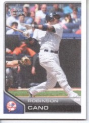 2011 Topps Lineage Robinson Cano Stickers