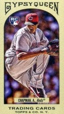 2011 Gypsy Queen Aroldis Chapman Rookie RC