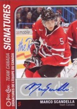 2011-12 Upper Deck O-Pee-Chee Team Canada Signature Card