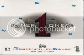 2011 Topps Tier One 1 Baseball Box