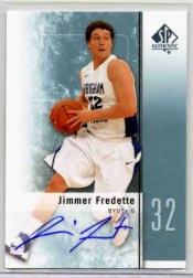 2011-12 Sp Authentic Jimmer Fredette RC Autograph