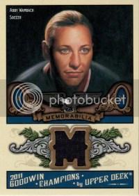 2011 Upper Deck Goodwin Champions Abby Wambach Jersey Card