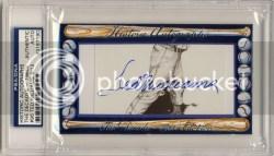 2011 Historic Autographs 1960s Ted Williams Autograph
