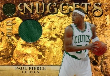 2010/11 Panini Gold Standard Nuggets Paul Pierce Jersey Card