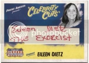 2011 Panini Americana Eileen Dietz Celebrity Cuts