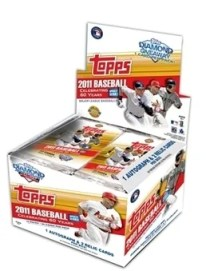 2011 Topps Update Baseball Box