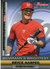 2011 Bowman's Brightest Bryce Harper