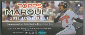 2011 Topps Marquee Hobby Box