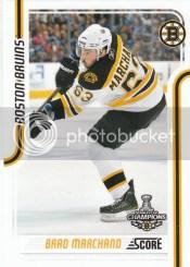 2011-12 Score Hockey Brad Marchand Glossy