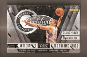 2010-11 Panini Certified Basketball Hobby Box