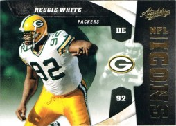 2011 Panini Absolute Reggie White Icons Insert