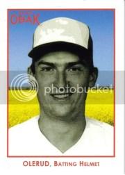 2011 TriStar Obak Baseball John Olerud